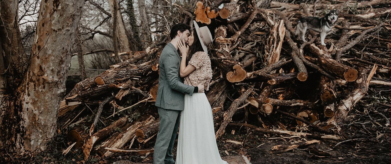 Mariage d'hiver avec wedding planner haut de gamme